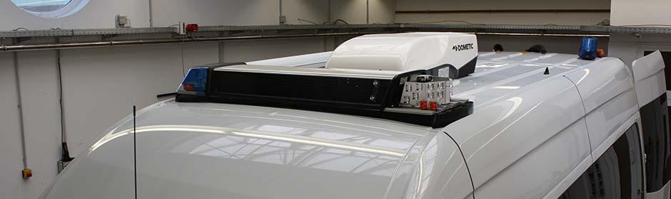Werkzeughalterungen für spezialisierte Fahrzeuge